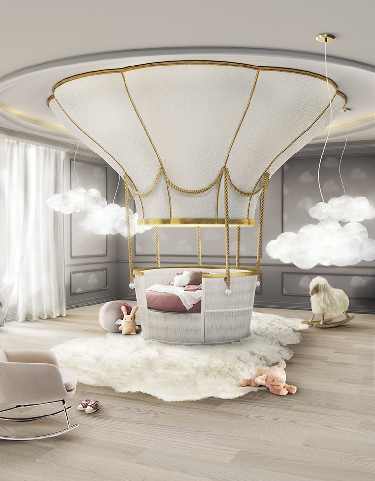Bedroom Design Kids Bedroom Design Ideas For 2017 Fantasy Air Balloon Circu  Magical Furniture