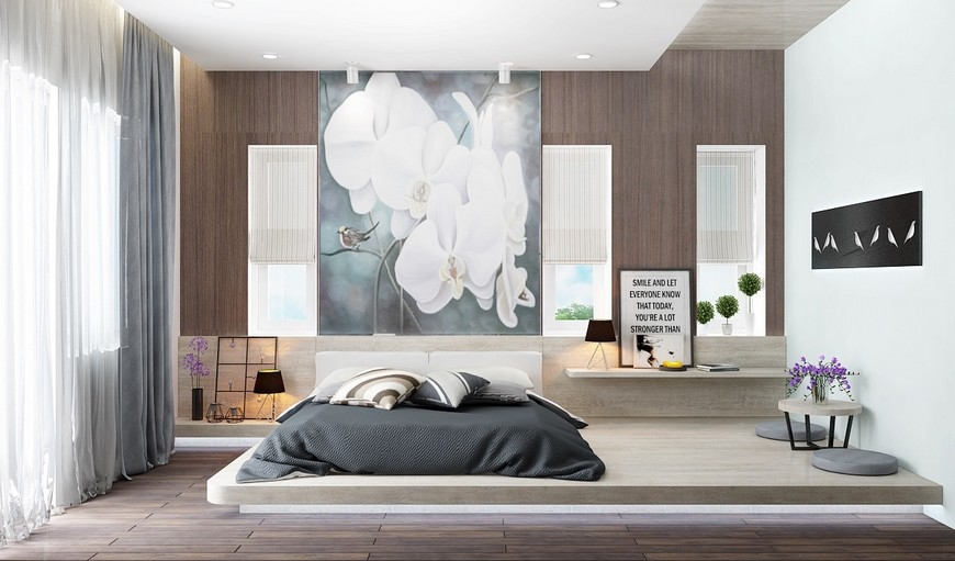 Low Height & Floor Bedroom Designs That Will Make You Sleepy bedroom designs Low Height & Floor Bedroom Designs That Will Make You Sleepy Low Height Floor Bedroom Designs That Will Make You Sleepy 9