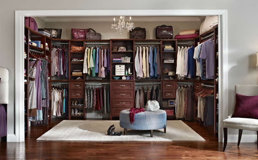 Top Luxury Closets For Your Modern Master Bedroom