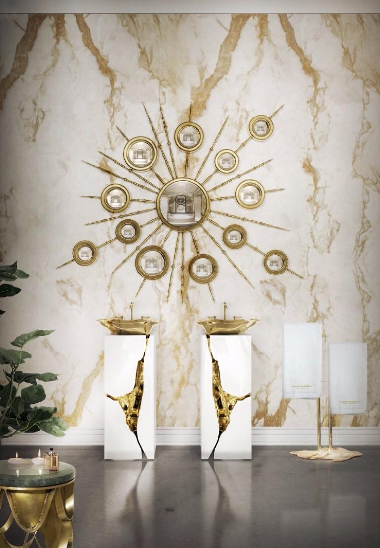 master bedroom Breathtaking Mirrors for Refined Master Bedrooms Apollo Mirror by Boca do Lobo