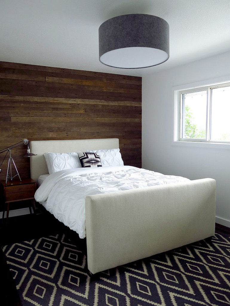 master bedrooms Trend Alert: Master Bedrooms with Reclaimed Wood Walls Aurora Mills Architectural Salvage
