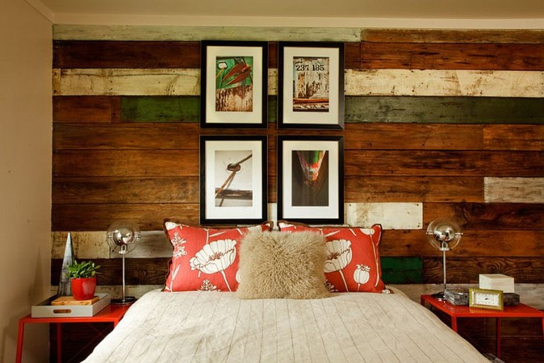 master bedrooms Trend Alert: Master Bedrooms with Reclaimed Wood Walls Garrison Hullinger Interior Design