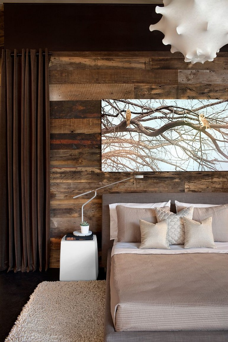 master bedrooms Trend Alert: Master Bedrooms with Reclaimed Wood Walls Habachy Designs