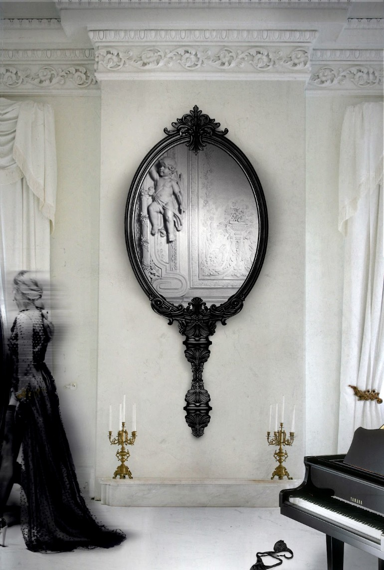 Marie Antoinette Mirror Boca do Lobo master bedroom Breathtaking Mirrors for Refined Master Bedrooms Marie Antoinette Mirror Boca do Lobo