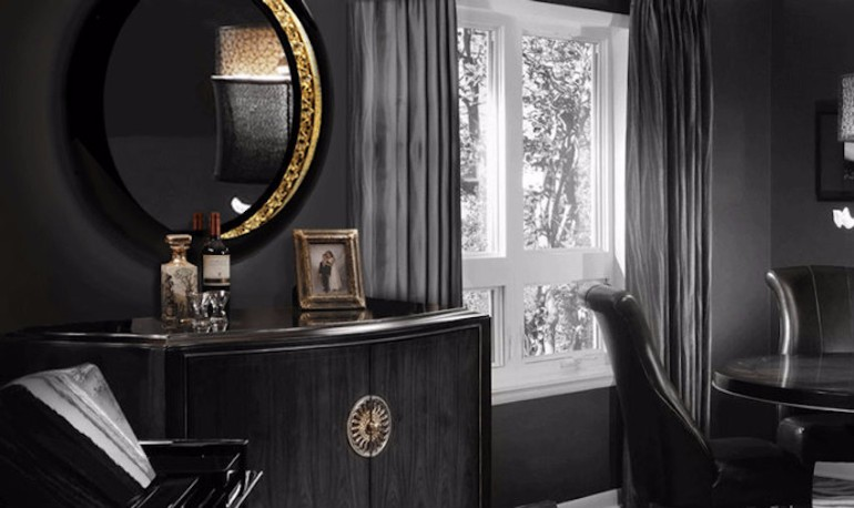 ring boca do lobo master bedroom Breathtaking Mirrors for Refined Master Bedrooms Ring Mirror Boca do Lobo