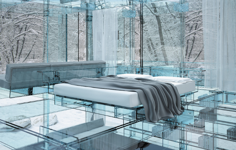 master bedroom 13 Master Bedroom Designs Straight From the Future Santambrogiomilano Glass Design Luxury Architecture