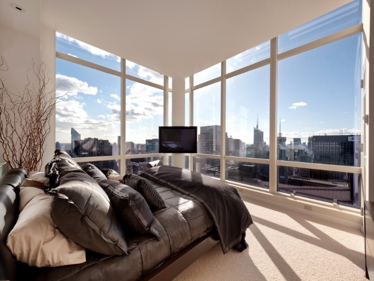 10 Manhattan Master Bedrooms With Stunning Views Master
