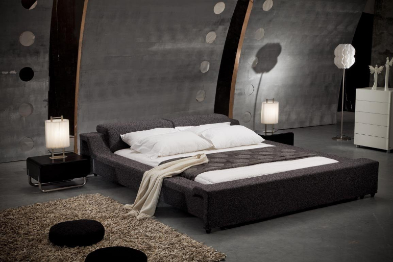 13 master bedroom designs straight from the future for New style bedroom bed design