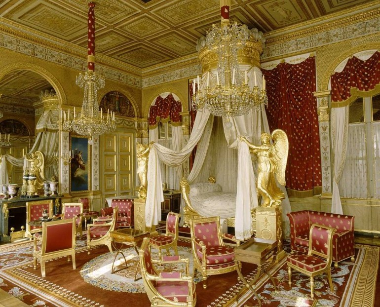 master bedrooms Opulent Master Bedrooms of Famous Palaces palais imp  rial compi  gne