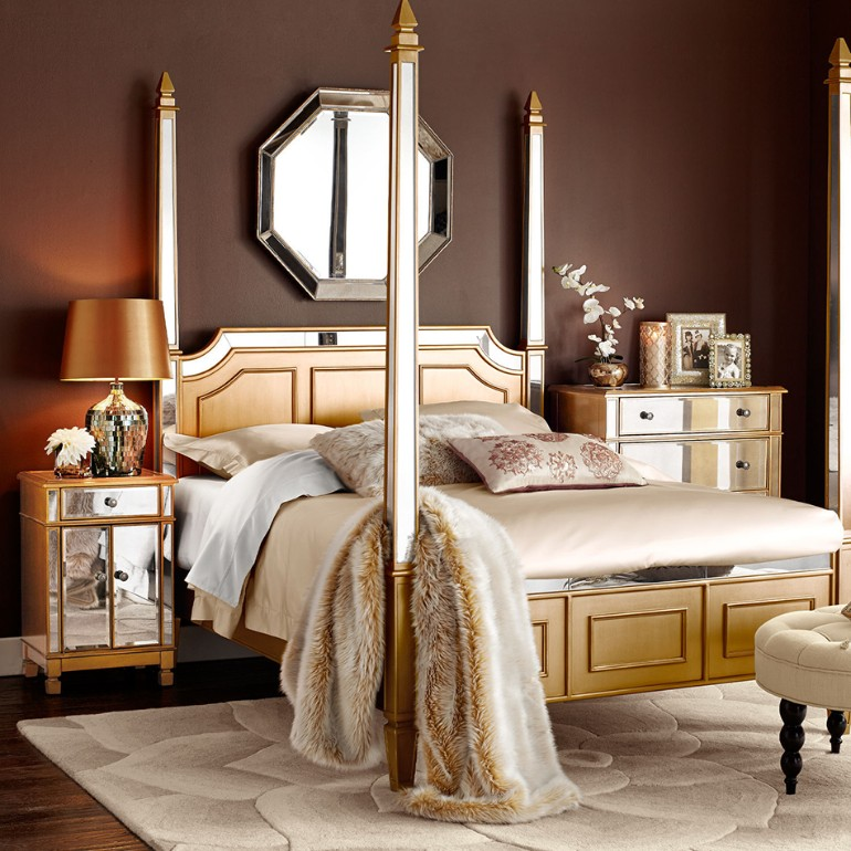 master bedroom Stunning Master Bedrooms with Gold Accents 1802131c874336c80920efcfd2930c4f