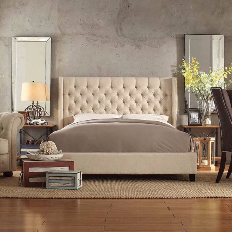 2017 bedroom trends Exciting 2017 Bedroom Trends: Upholstered Beds 255a99a7507b2a41135b1c1622b8c340