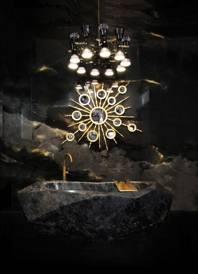 master bathroom Glaring Master Bathrooms for the Contemporary Home 3 diamond bathtubs maison valentina HR