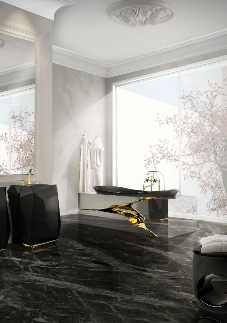 master bathroom master bathroom Glaring Master Bathrooms for the Contemporary Home 7 lapiaz bathtub diamond freestand maison valentina HR