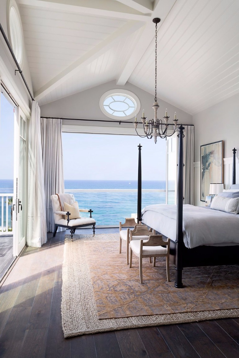 ocean view 50 Dazzling Master Bedrooms With An Ocean View 90881