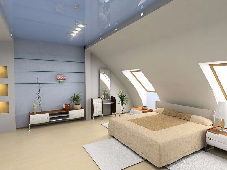 attic bedroom 12 Masterfully Decorated Attic Bedrooms Bedroom design attic inspiration idea