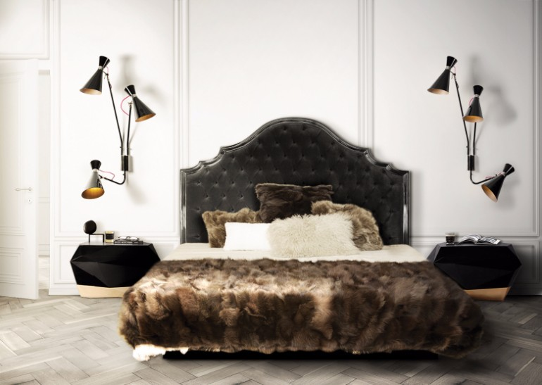 industrial bedroom 10 Phenomenal Industrial Bedroom Designs Diamond Nightstand Boca do Lobo industrial master bedroom design & 10 Phenomenal Industrial Bedroom Designs \u2013 Master Bedroom Ideas