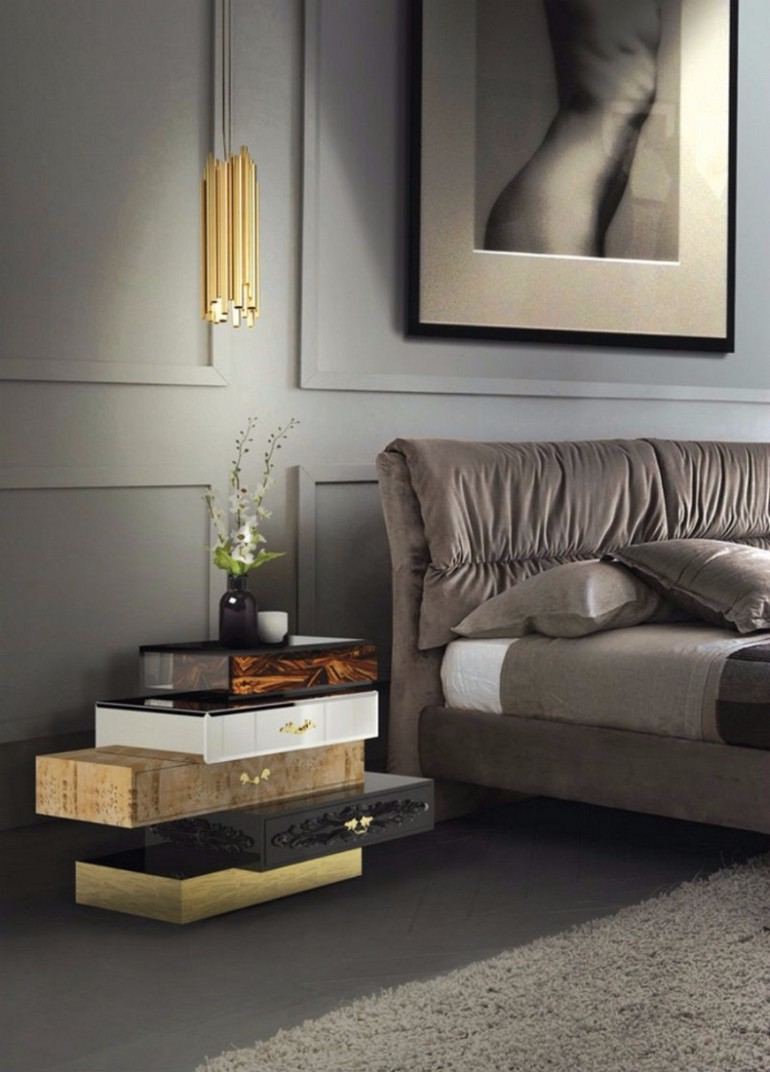 Most expensive nightstands for dark bedrooms master for Expensive bedroom ideas
