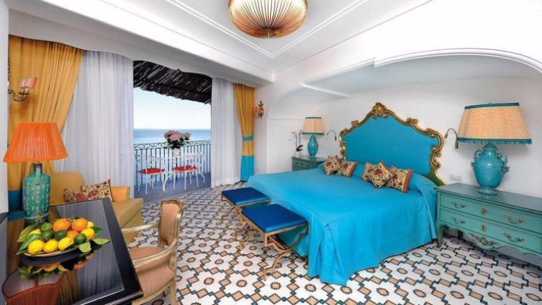 luxury hotel Top 10 Bedrooms of Italian Luxury Hotels Hotel San Pietro Di Positano photos Amalfi Italy