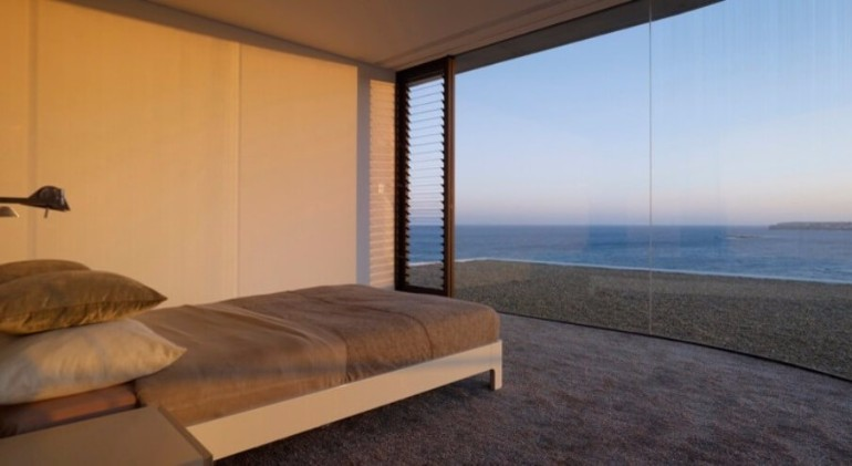 ocean view 50 Dazzling Master Bedrooms With An Ocean View Minimalist Bedroom With Ocean View