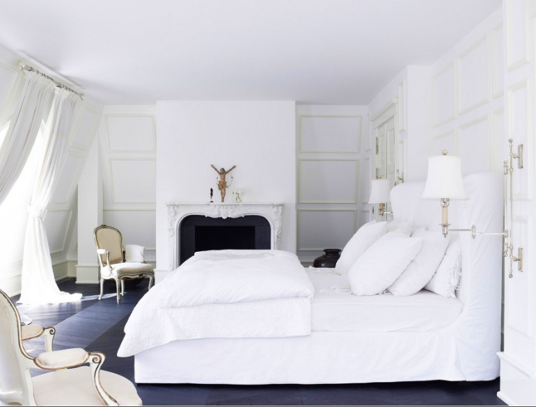 master bedroom The Best White Designs For Charming Master Bedrooms amazing all white bedroom modern bedcover the pillows remodel stunning flooring colour scheme ideas pendants lamp small bed cool creative diy room paint master d