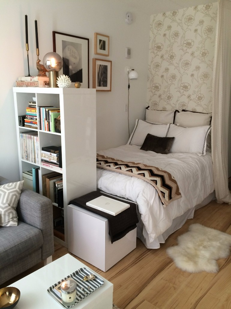 Tips to create the perfect tiny bedroom in your studio for Bedroom design creator