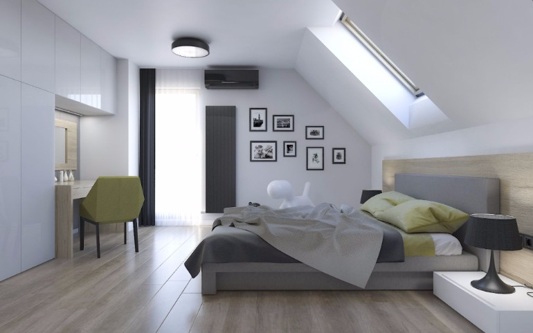 attic bedroom 12 Masterfully Decorated Attic Bedrooms attic bedroom master bedroom ideas