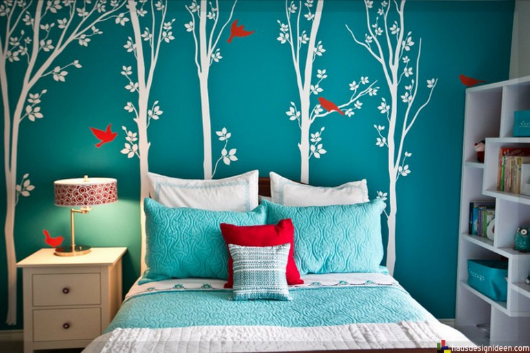 teen girl bedroom blue  Teen Girl Bedroom 10 Teen Girl Bedrooms Every Girl Would Wish For beautiful blue teen girl bedroom