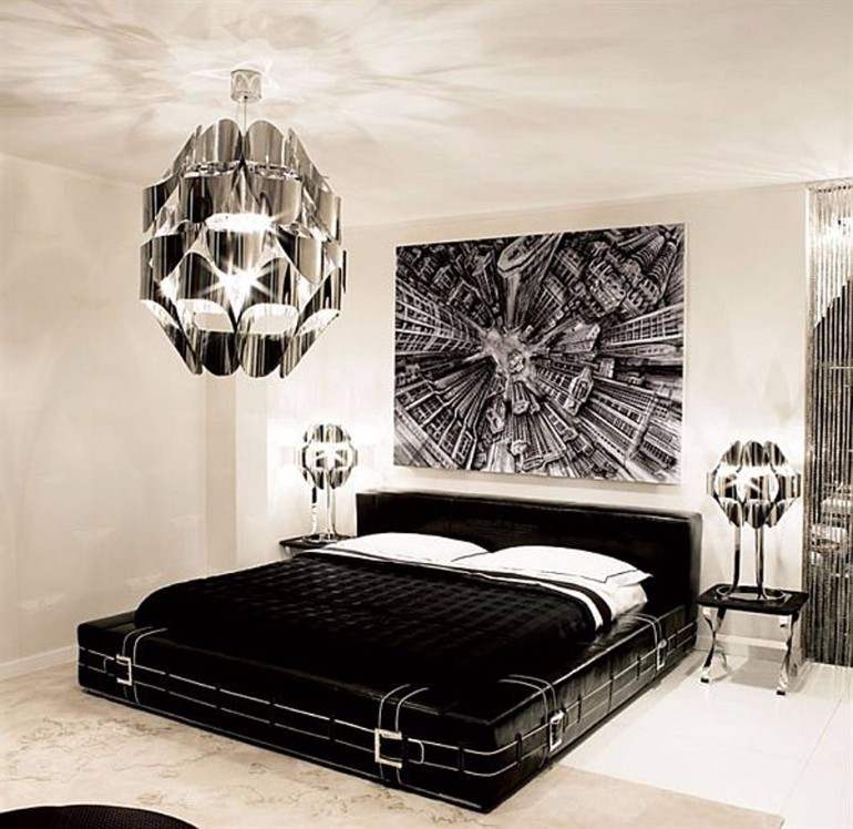 sleek and modern black and white bedroom ideas – master bedroom ideas