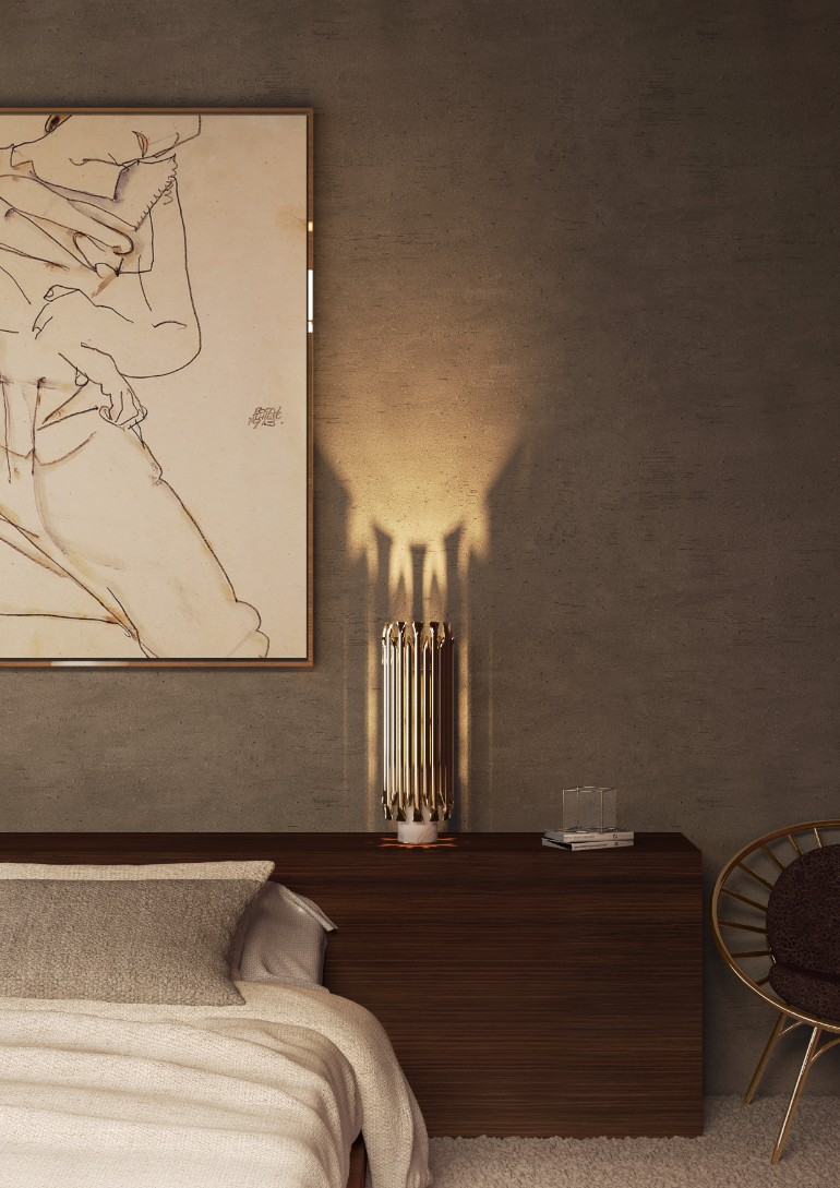 Matheny Table Lamp master bedroom Stunning Master Bedrooms with Gold Accents delightfull matheny table lamp ambience 01