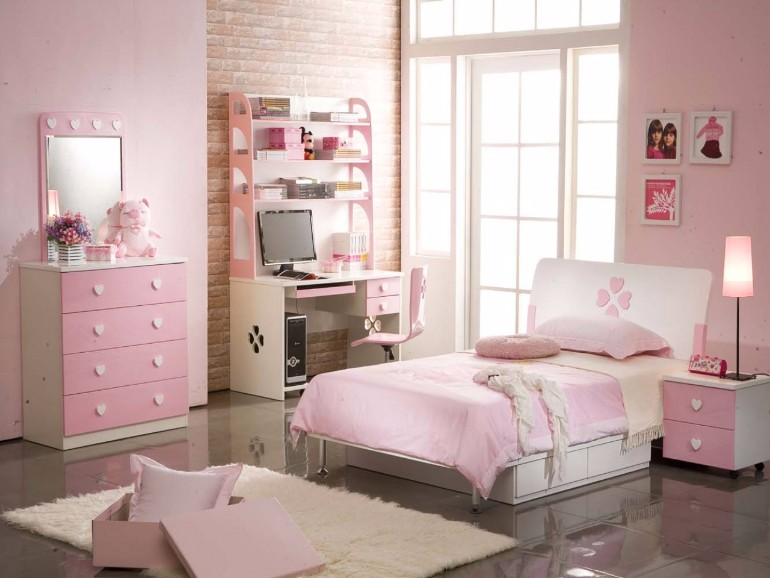 teen girl bedroom design pink tones Teen Girl Bedroom 10 Teen Girl Bedrooms Every Girl Would Wish For girls bedroom decor ideas american girl bedroom decor ideas