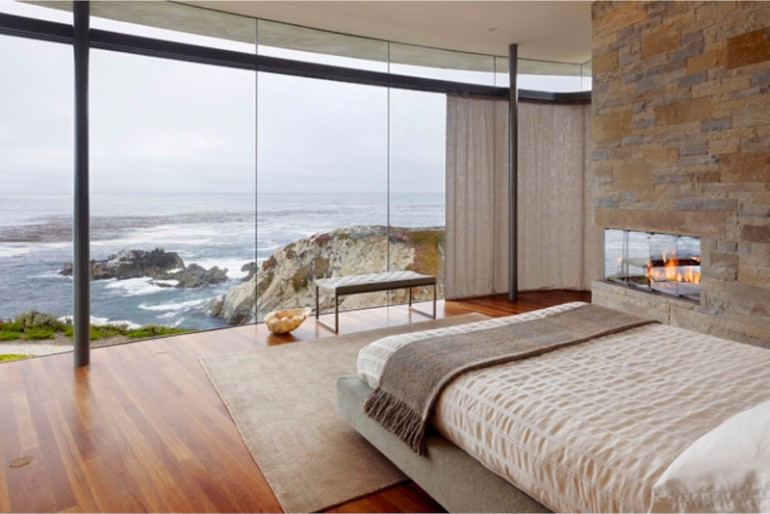 ocean view 50 Dazzling Master Bedrooms With An Ocean View minimalist bedroom ideas decor 39