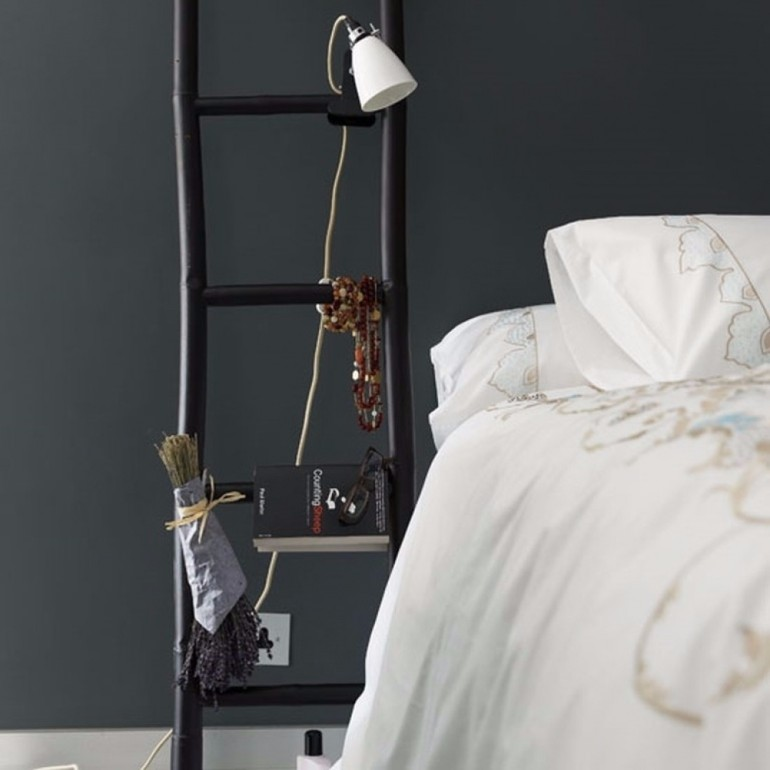 nightstands Surprising items re-purposed as innovative Nightstands original ladder bedside table