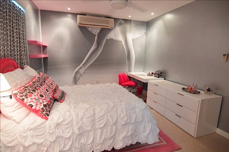 teen girl design for princess Teen Girl Bedroom 10 Teen Girl Bedrooms Every Girl Would Wish For pink tones girl bedroom