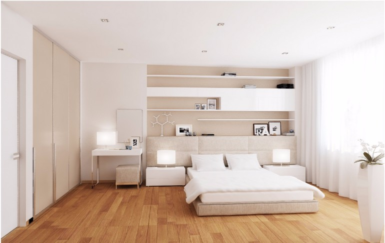masterbedroomideas master bedroom The Best White Designs For Charming Master Bedrooms quarto 1