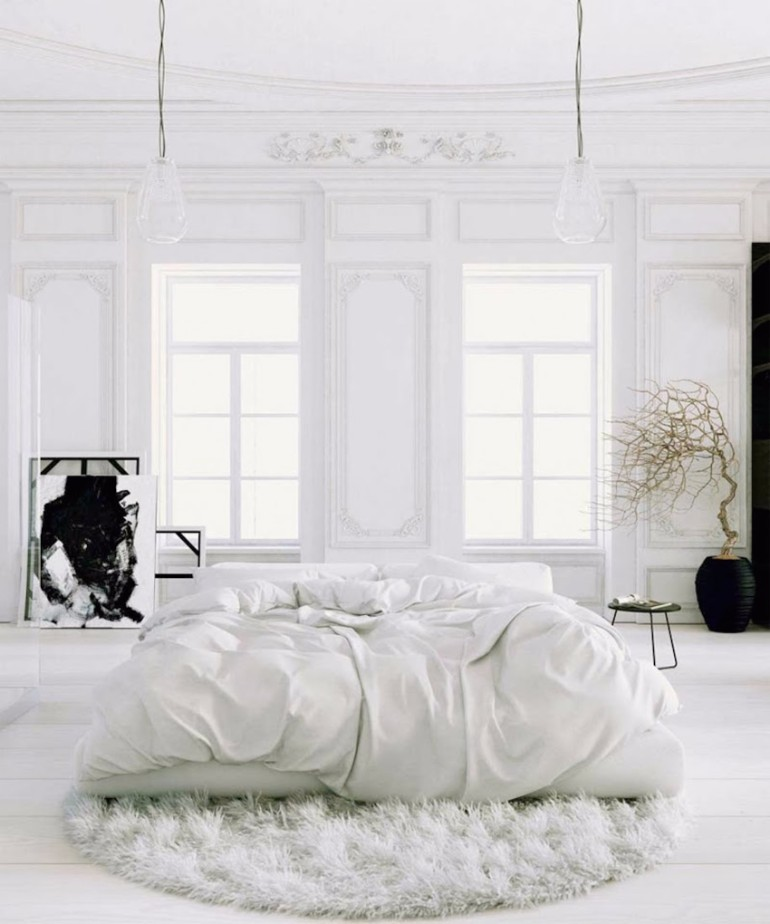 bedroom design master bedroom The Best White Designs For Charming Master Bedrooms roomed tips