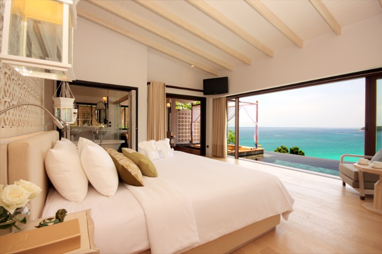 ocean view 50 Dazzling Master Bedrooms With An Ocean View stil nomer spalnya more