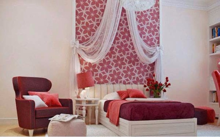 dark tones pink bedroom design teen girl bedroom 10 Teen Girl Bedrooms Every Girl Would Wish For teen bedroom inspiration
