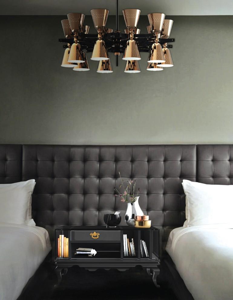 tower nightstand boca do lobo Black and White Bedroom Sleek and Modern Black and White Bedroom Ideas tower 4