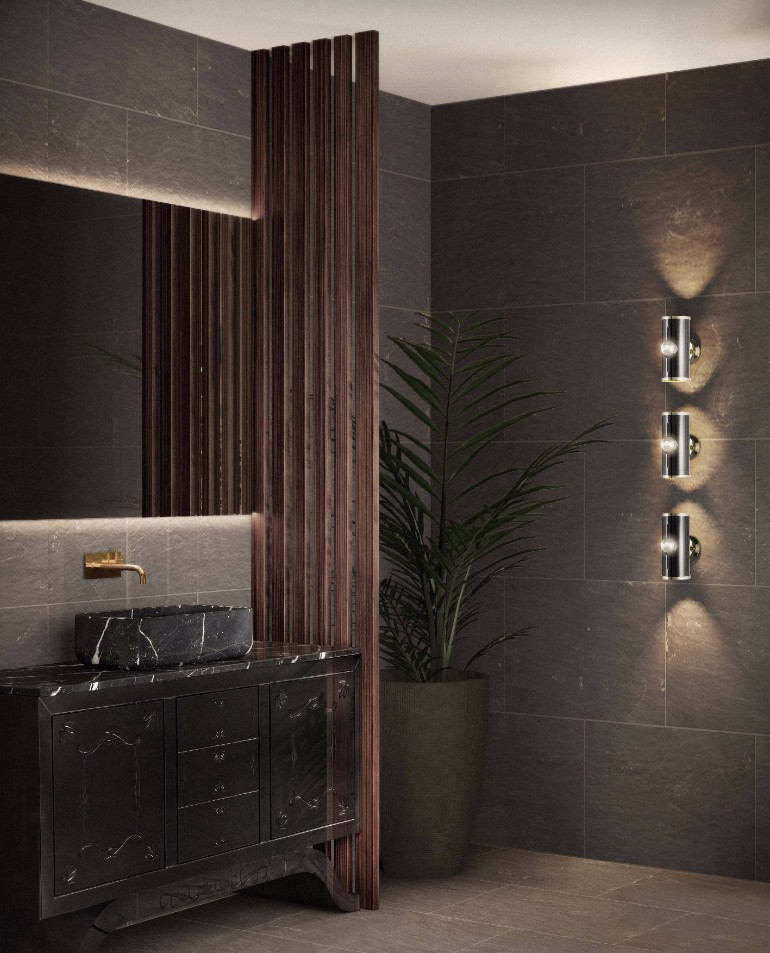 master bathroom Glaring Master Bathrooms for the Contemporary Home wc