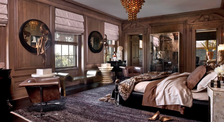 top interior designers top interior designers Bedrooms by Top Interior Designers: Kelly Wearstler Hillcrest Residence Master bedroom Ideas Modern design Inspiration home Decor Kelly Wearstler