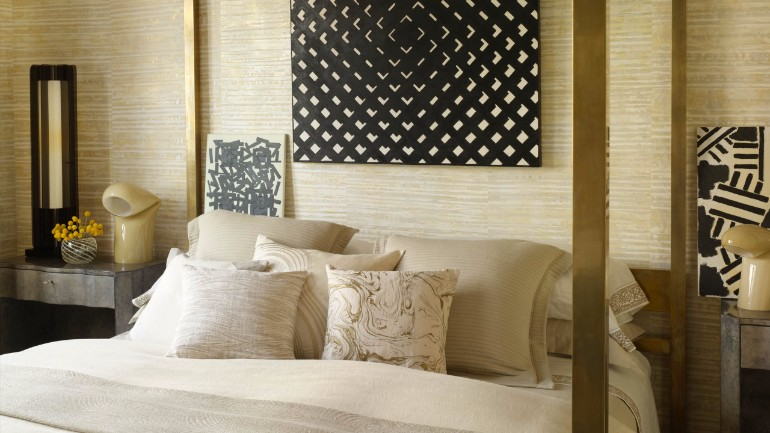 top interior designers Bedrooms by Top Interior Designers: Kelly Wearstler Spring street residence kelly wearstler modern master bedroom ideas bedroom inspiration design luxury interior design