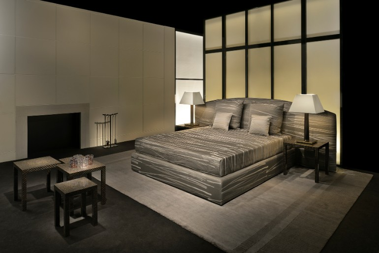 Master bedroom Top 10 Master Bedroom Furniture Brands armani casa modern luxur master bedroom design Armani Casa top furniture brands design inspiration masterbedroomideas