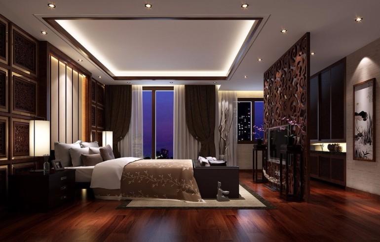 Beautiful Goth Bedrooms With Wood Floor: Delightful Master Bedrooms With Hardwood Floors