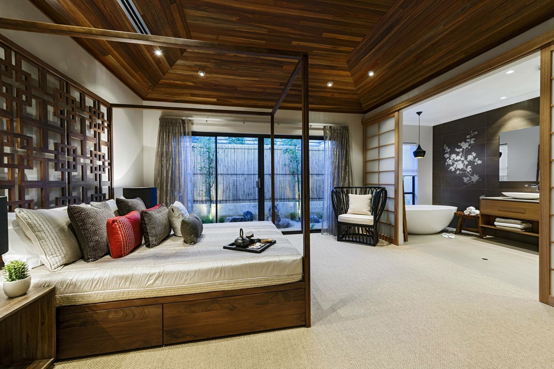master bedroom Inspiring Master Bedrooms From the Best Interior Designers d9d7a6c0f9693aed9c19e85ff7cd8557
