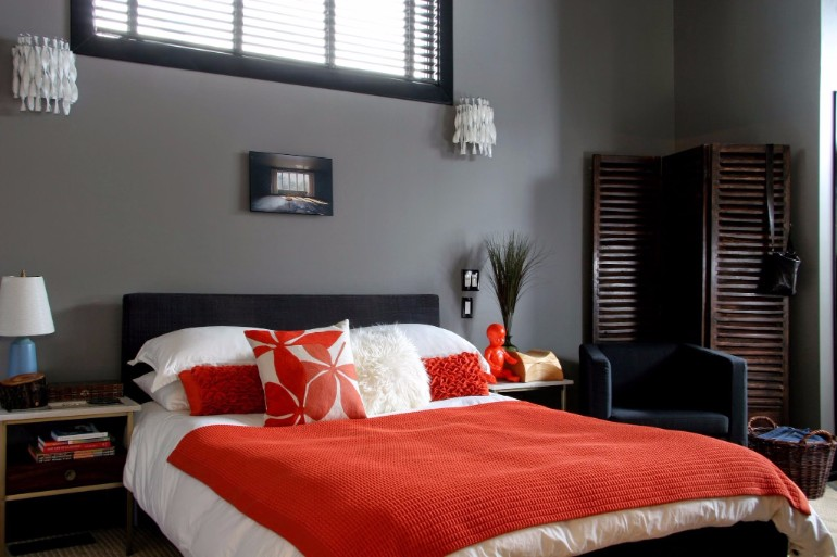 grey bedroom ideas, bedroom decor master bedroom Grey Master Bedrooms With A Glimpse Of Color grey bedroom with a touch of red colors color ideas for bedroom master bedroom ideas modern design