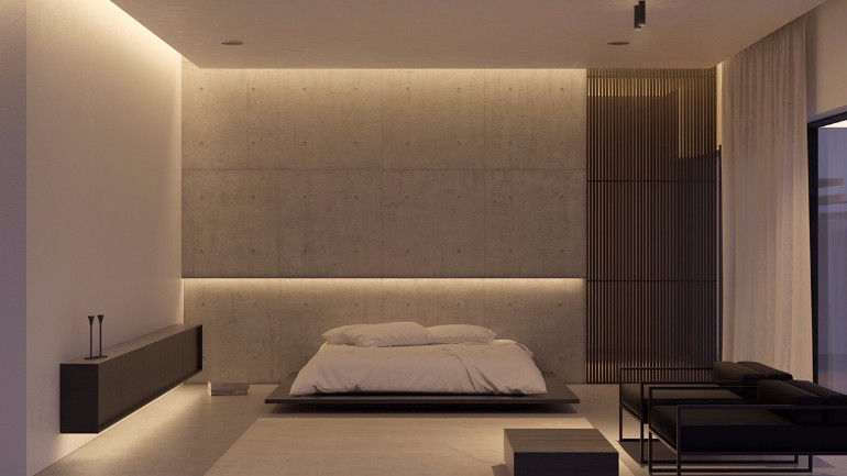 Minimal bedroom Get inspired by Minimal Bedroom Designs grey tones in master bedroom minimalist design scandinavian schemes