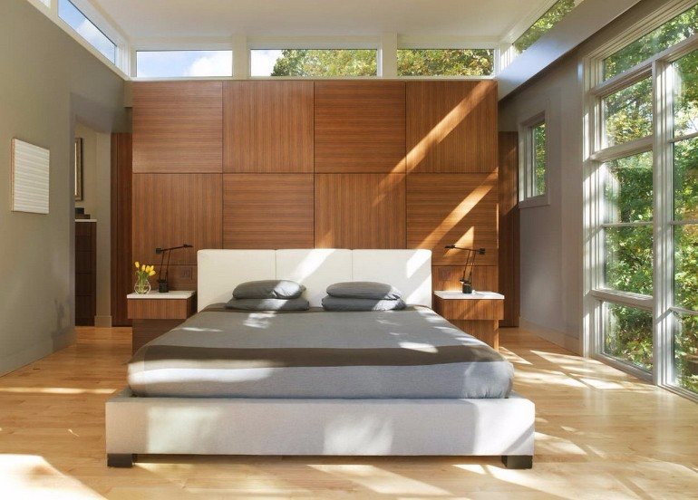 master bedroom 10 Sleek and Modern Master Bedroom Designs luminous master bedroom design inspiration wooden tones modern contemporary lines luxury design