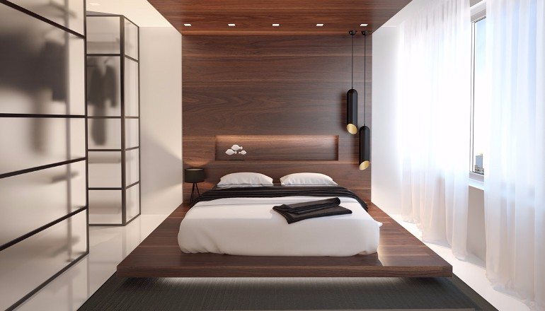 Minimal bedroom Get inspired by Minimal Bedroom Designs master bedroom design ideas with modern wood inspiration for interior decor