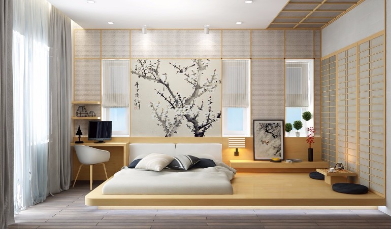 minimal bedroom design inspiration Minimal bedroom Get inspired by Minimal Bedroom Designs master bedroom design wood tones light colors for interior decor
