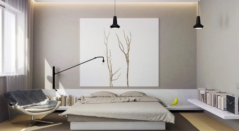 Minimal bedroom Get inspired by Minimal Bedroom Designs master bedroom minimalist design white tones neutral colors bedroom inspiration